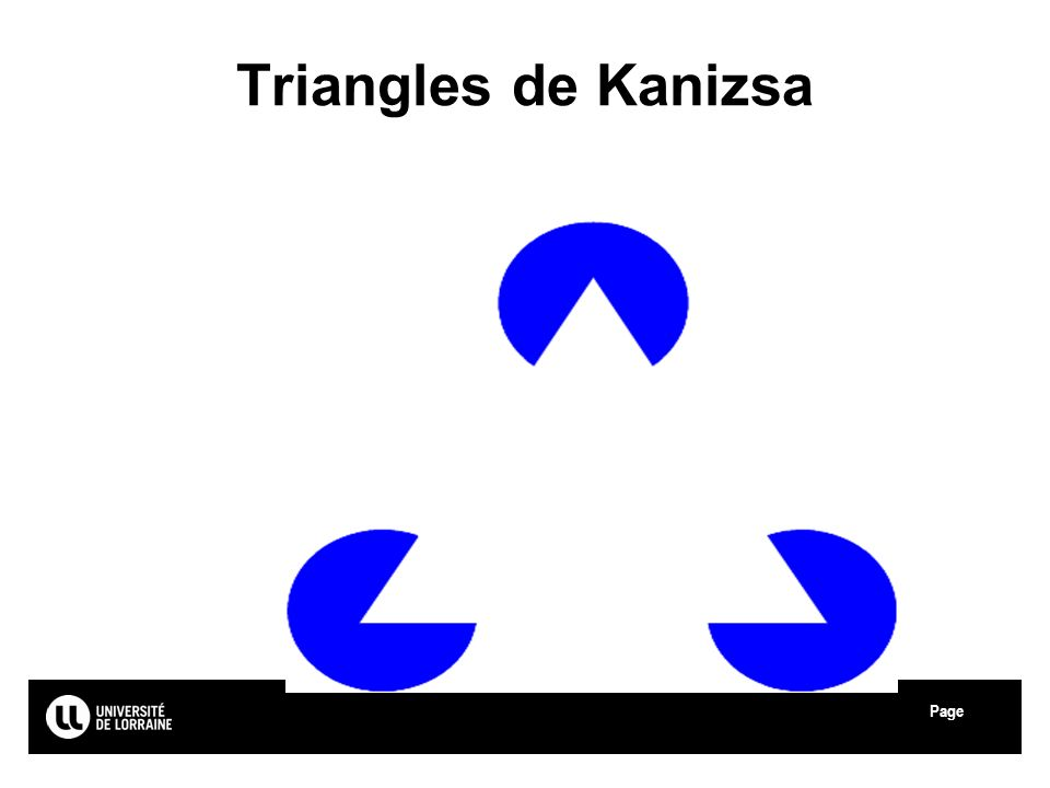 Page Triangles de Kanizsa