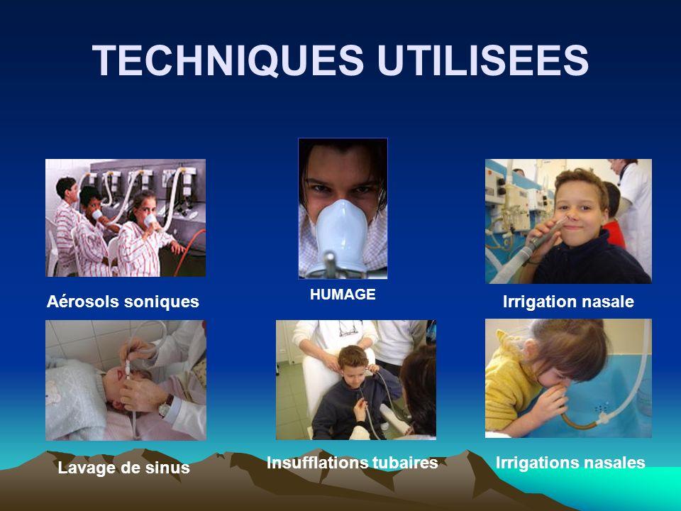 HUMAGE Aérosols soniquesIrrigation nasale Lavage de sinus Insufflations tubaires Irrigations nasales