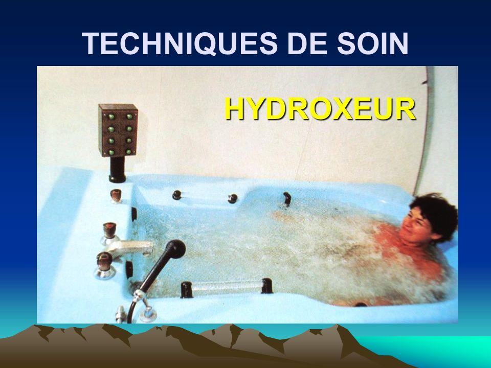 TECHNIQUES DE SOIN HYDROXEUR