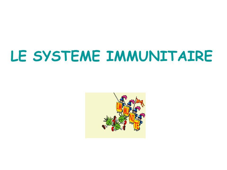 LE SYSTEME IMMUNITAIRE