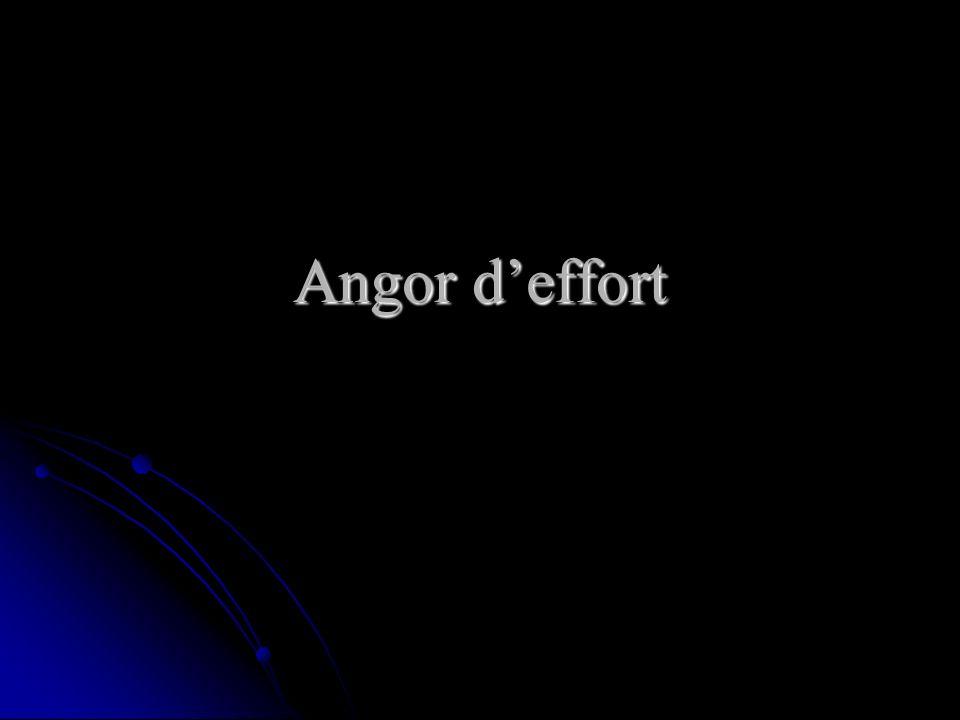 Angor deffort
