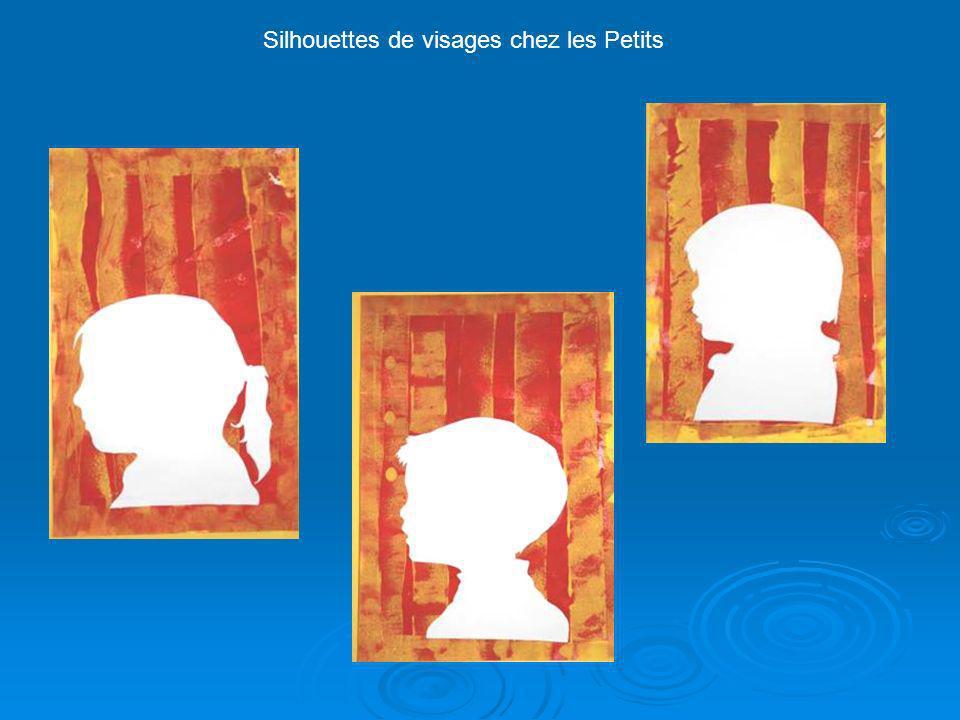 Silhouettes de visages chez les Petits