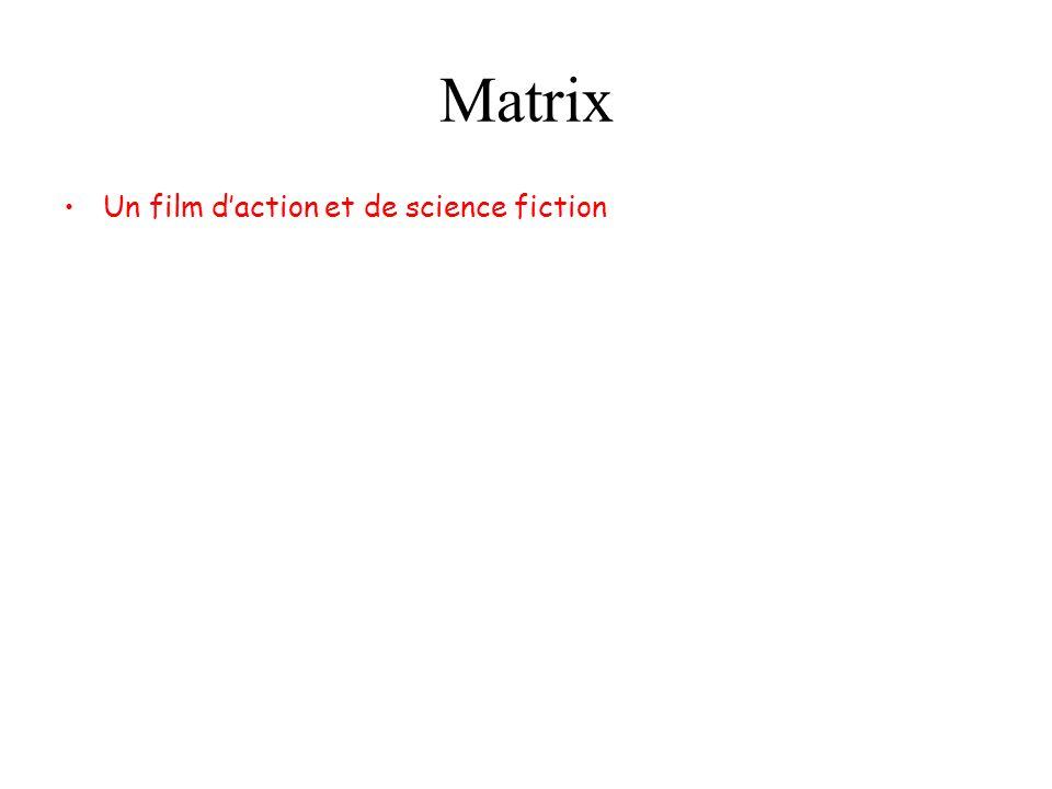 Matrix Un film daction et de science fiction