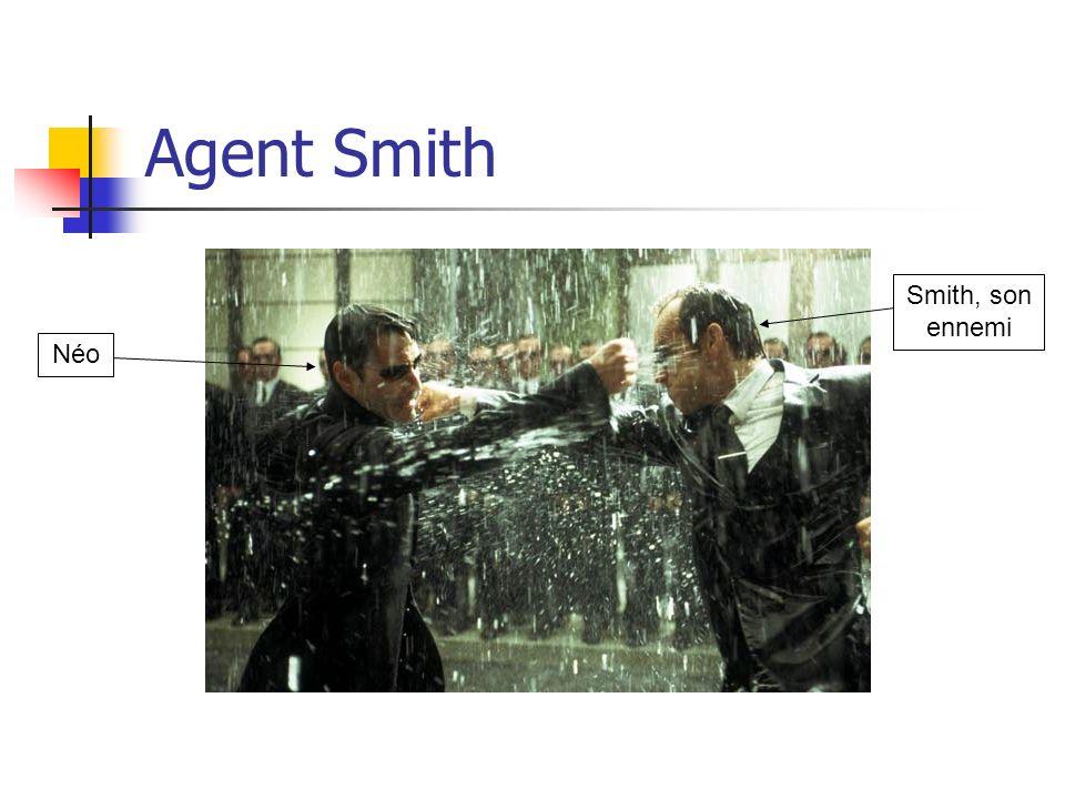 Agent Smith NéoSmith, son ennemi