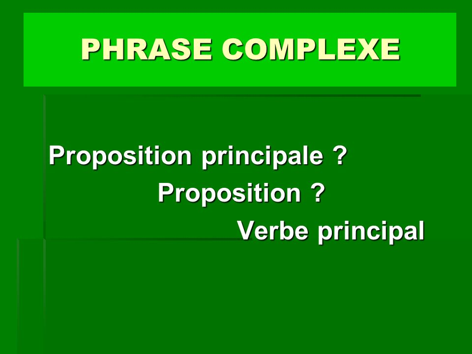 7 Propositions.