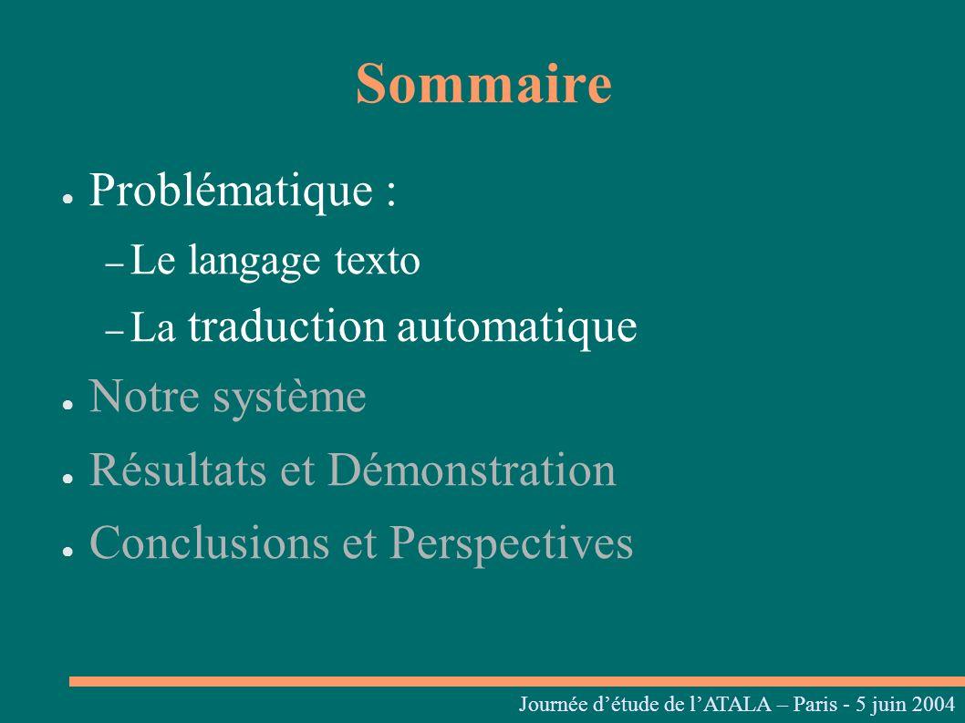 Résultats Validation lexicale : – J ai un/une idée(s) – Jet un/une idée(s) – Geai un/une idée(s) – Jais un/une idée(s) Journées linguistiques du Centre L.