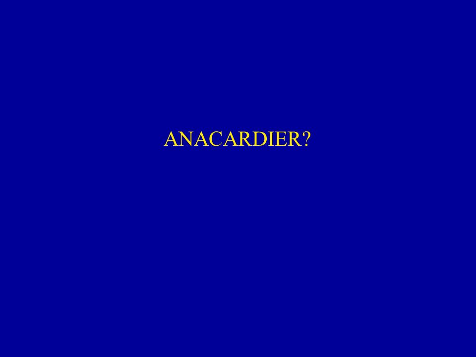 ANACARDIER