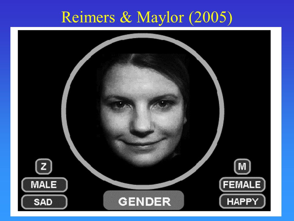 Reimers & Maylor (2005)