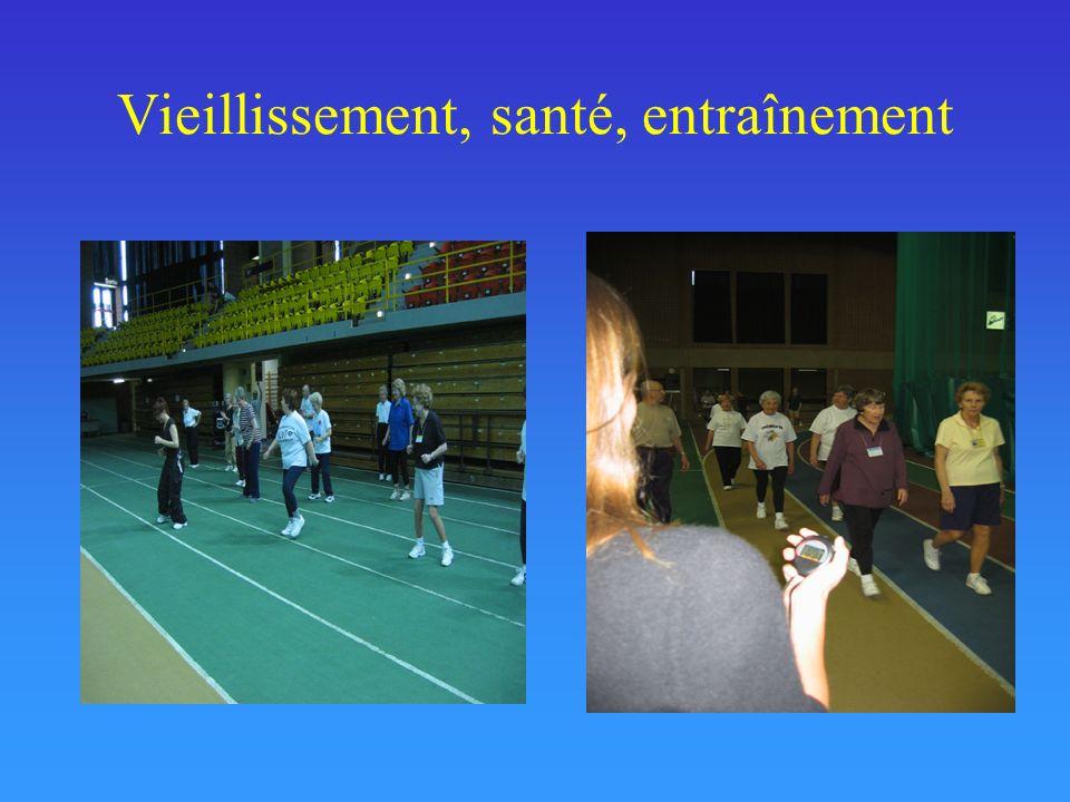 Vieillissement et entraînement physique Rikli & Edwards, 2005
