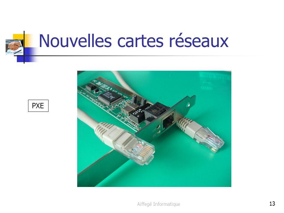 Aiffegé Informatique 13 Nouvelles cartes réseaux PXE