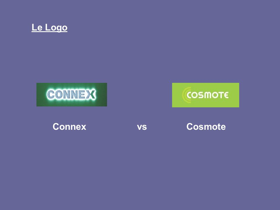 Le Logo ConnexCosmote vs