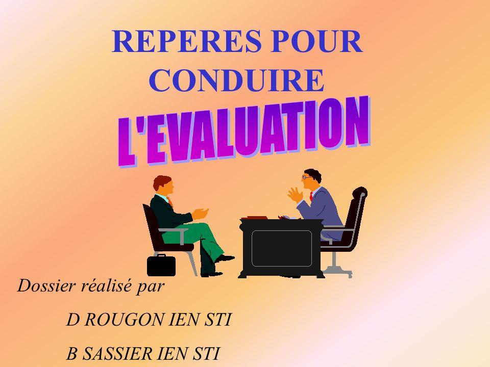 REPERES POUR CONDUIRE Dossier réalisé par D ROUGON IEN STI B SASSIER IEN STI