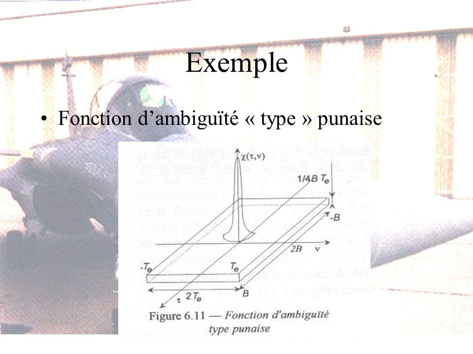Exemple Fonction dambiguïté « type » punaise