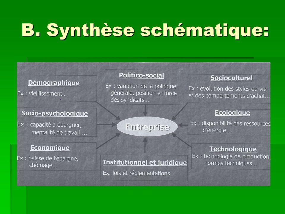 B. Synthèse schématique: