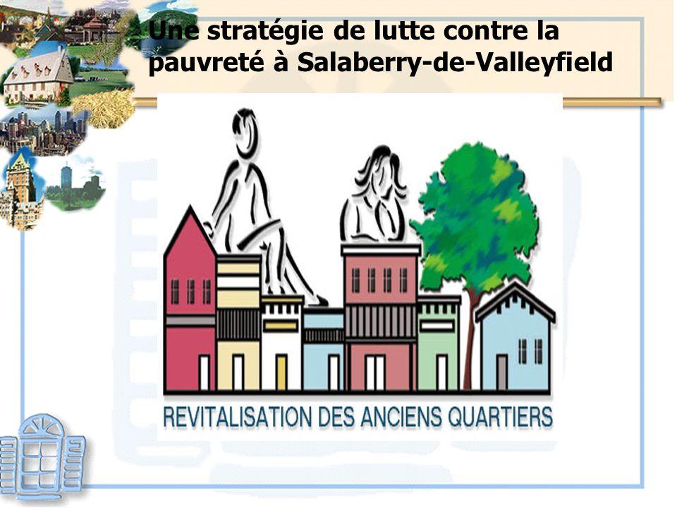 Une stratégie de lutte contre la pauvreté à Salaberry-de-Valleyfield