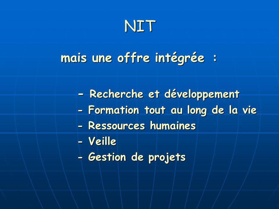 NIT 2.3 Des valeurs partagées : pour un éco- épicurisme Des progrès technologiques vers un futur souhaitable en repositionnant la présence de lHomme LINPL est ancré dans la matière et les ressources.