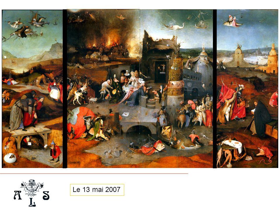Analyse à laune de la clinique, de la toxicologie et de la thérapeutique de la « Tentation de St Antoine » Pr.