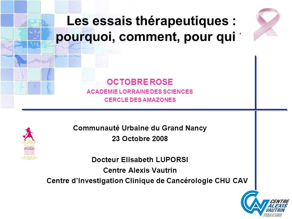 En France (Allemand et coll Bull Cancer 2008 ; 95 (1) : 11-5) Effet dépistage et effet THS: part respective?