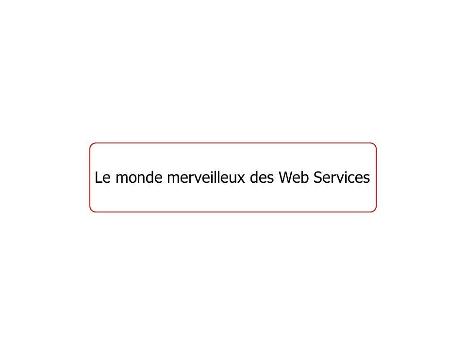 Que sont les Web Services .