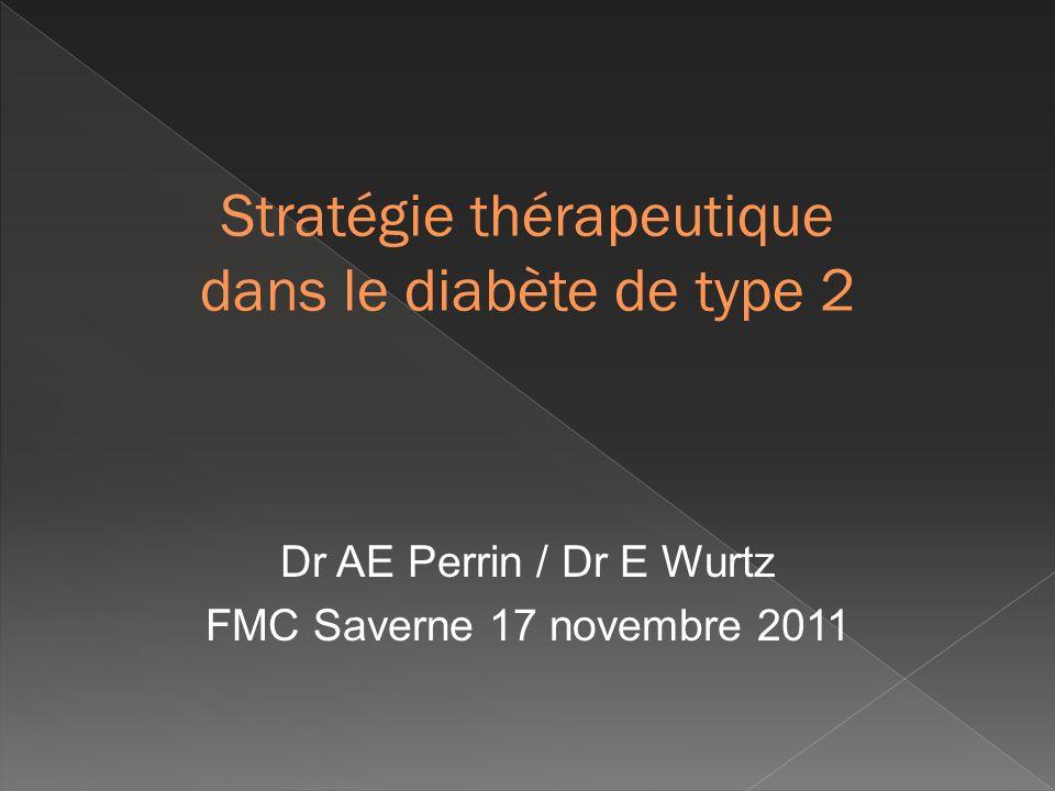 Dr AE Perrin / Dr E Wurtz FMC Saverne 17 novembre 2011