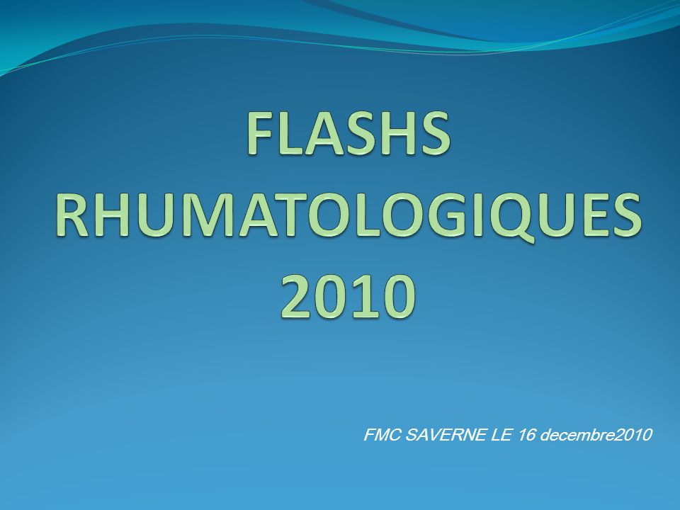 FMC SAVERNE LE 16 decembre2010