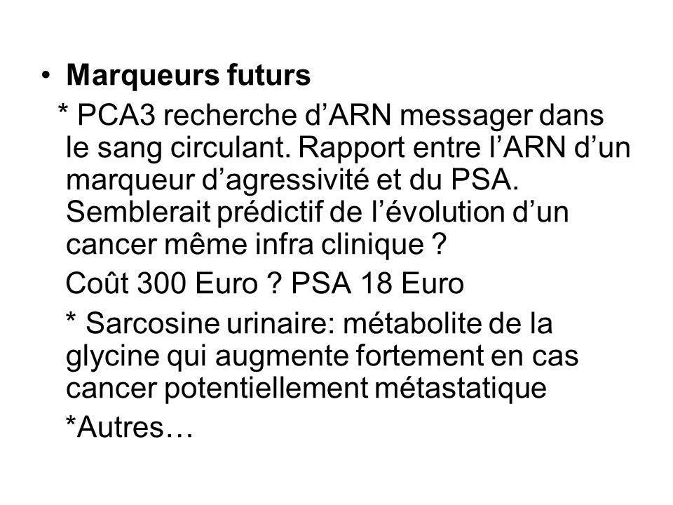 2009 : résultats sur la mortalité de protocoles randomisés de dépistage de cancer de la prostate