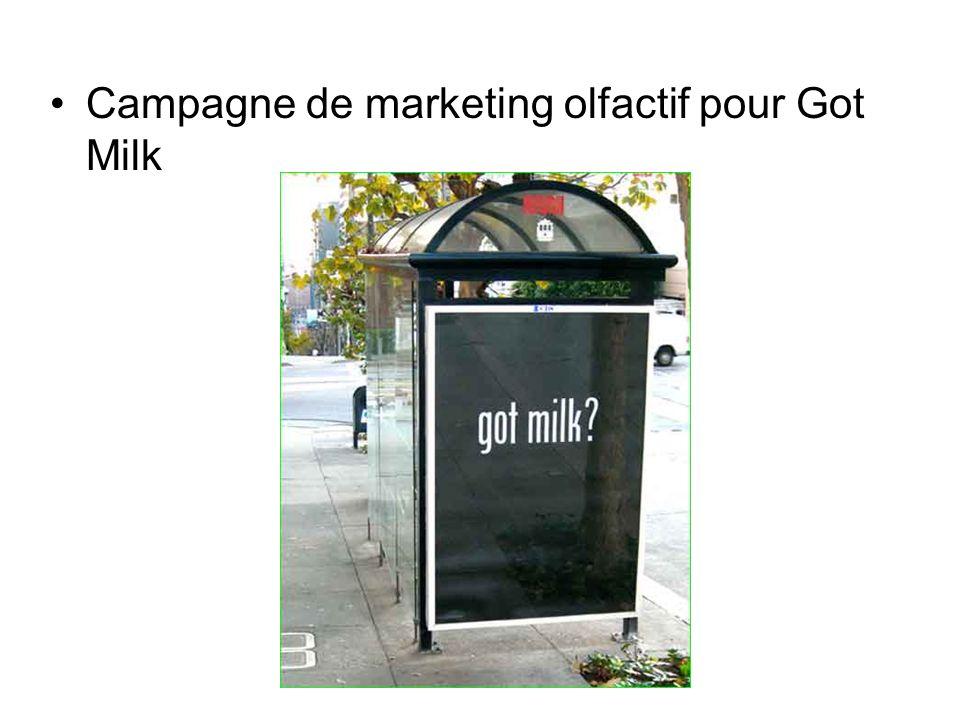 Campagne de marketing olfactif pour Got Milk