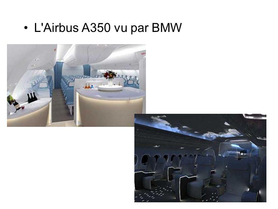 L'Airbus A350 vu par BMW
