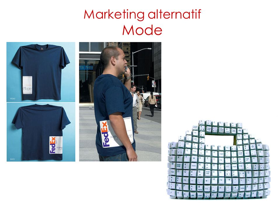 Marketing alternatif Mode