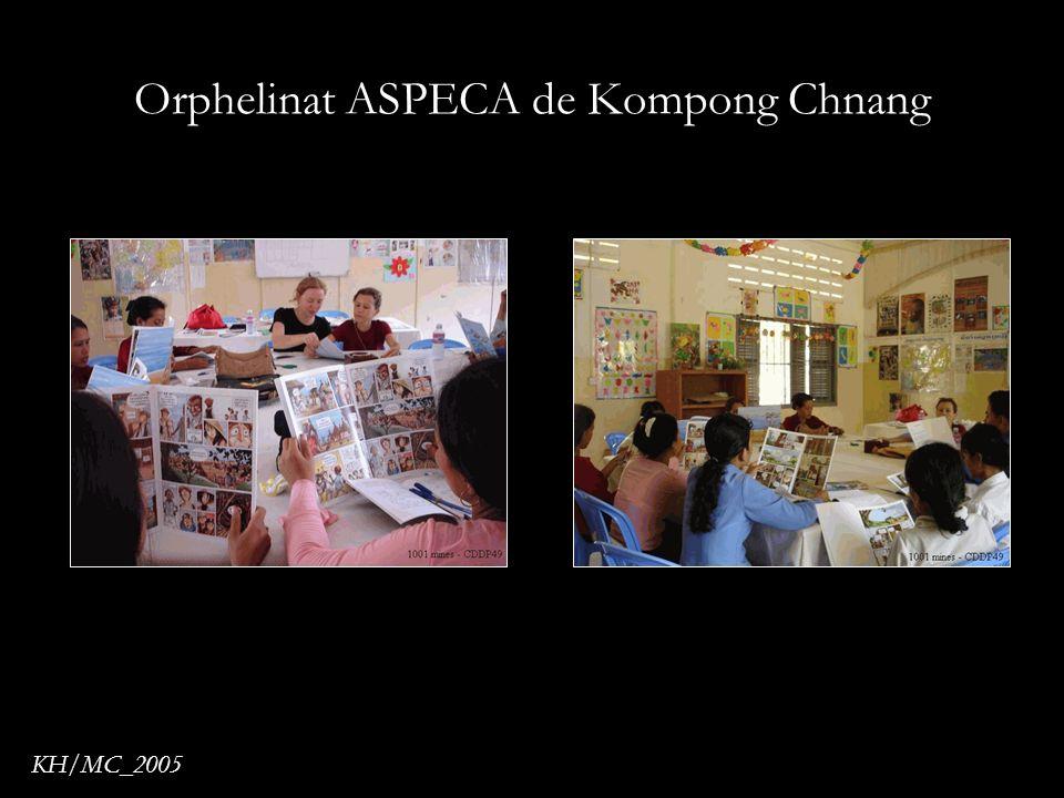 Orphelinat ASPECA de Kompong Chnang KH/MC_2005