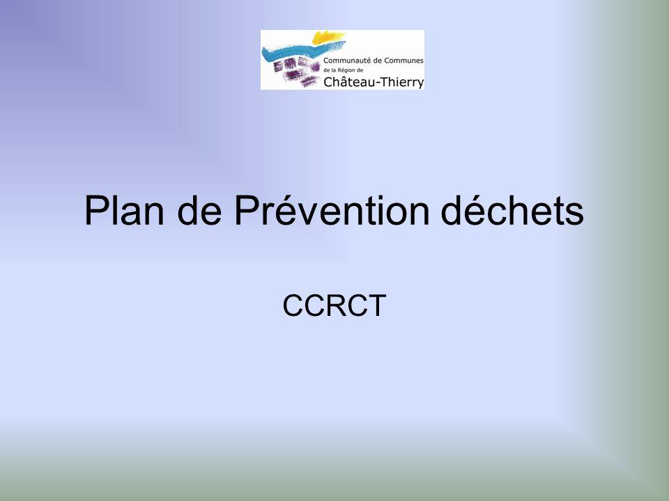 Plan de Prévention déchets CCRCT