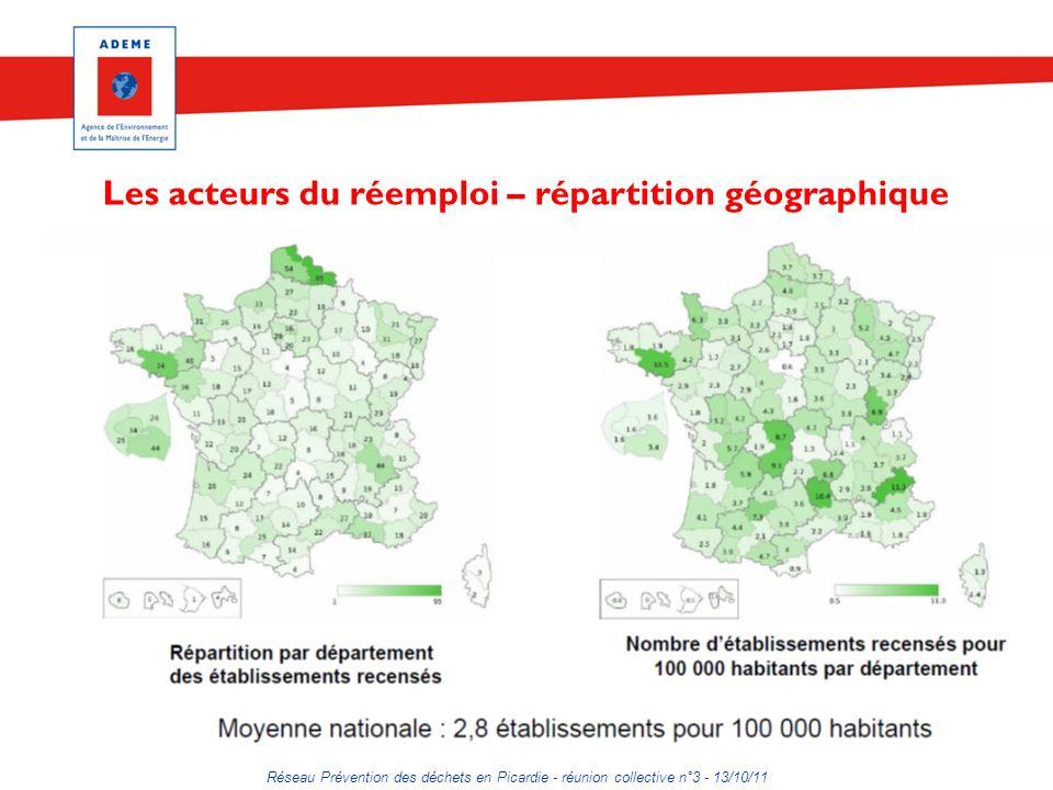Réseau Prévention des déchets en Picardie - réunion collective n°3 - 13/10/11 Pour aller plus loin que le réemploi Etude de faisabilité et expérimentation pour la valorisation des matériaux et des matières 1 ères issus du flux des DMA, réalisée par Cap3C