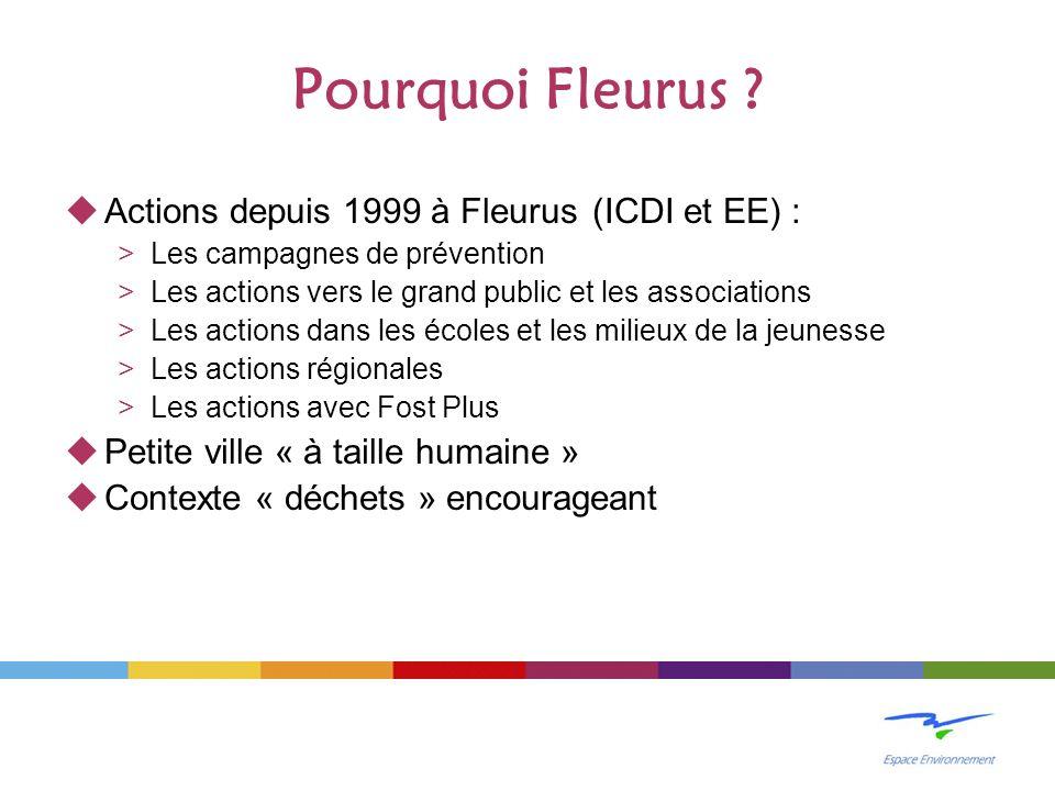 Pourquoi Fleurus .