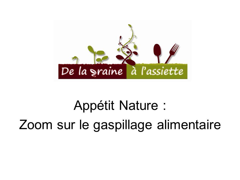 Appétit Nature : Zoom sur le gaspillage alimentaire