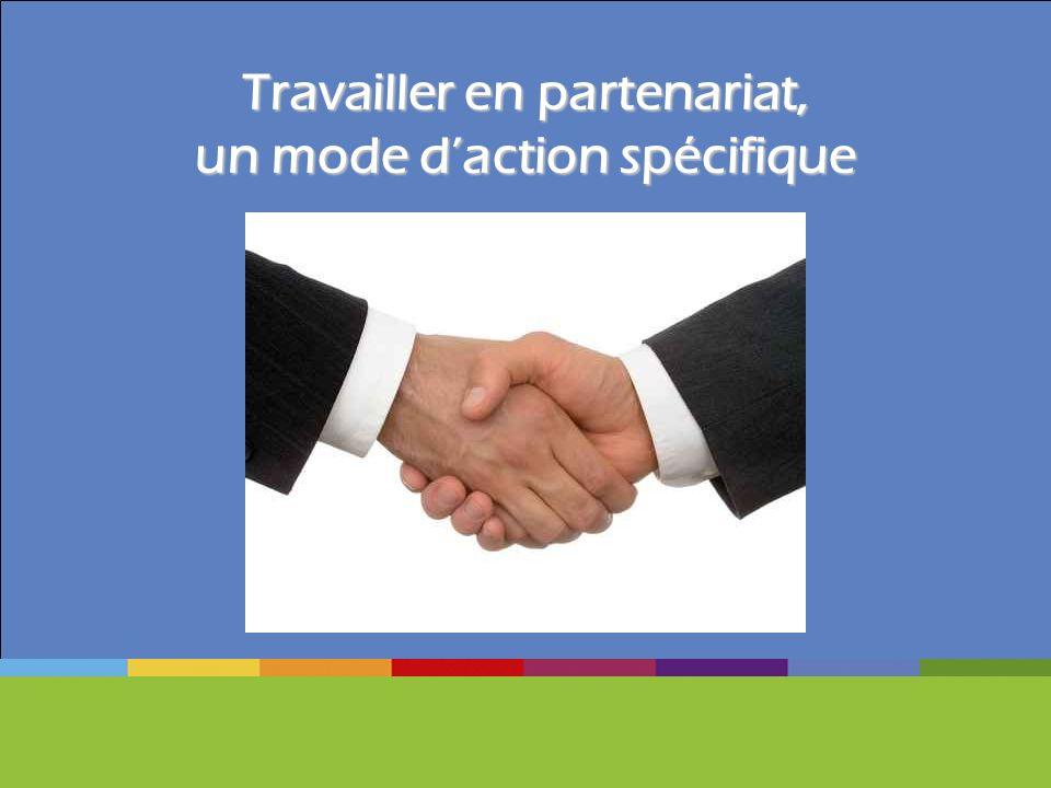 Travailler en partenariat, un mode daction spécifique
