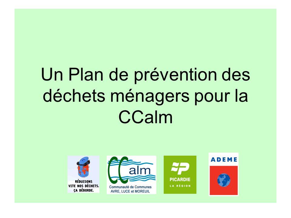 Un Plan de prévention des déchets ménagers pour la CCalm