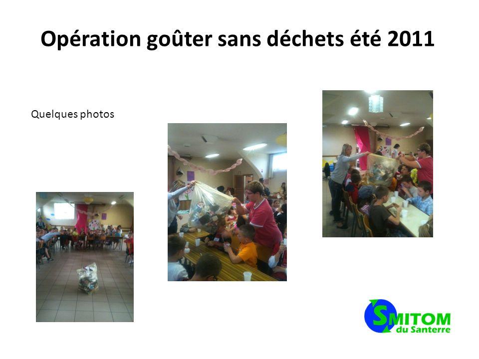 Opération goûter sans déchets été 2011 Et dans la presse….