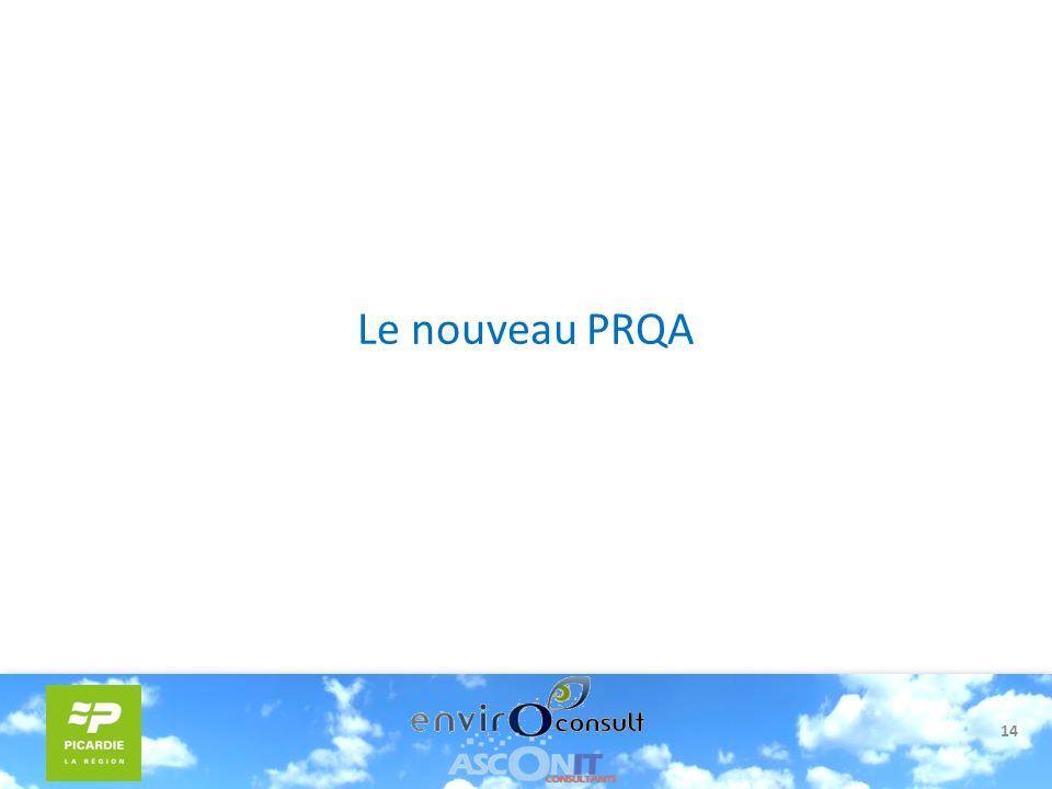 14 Le nouveau PRQA