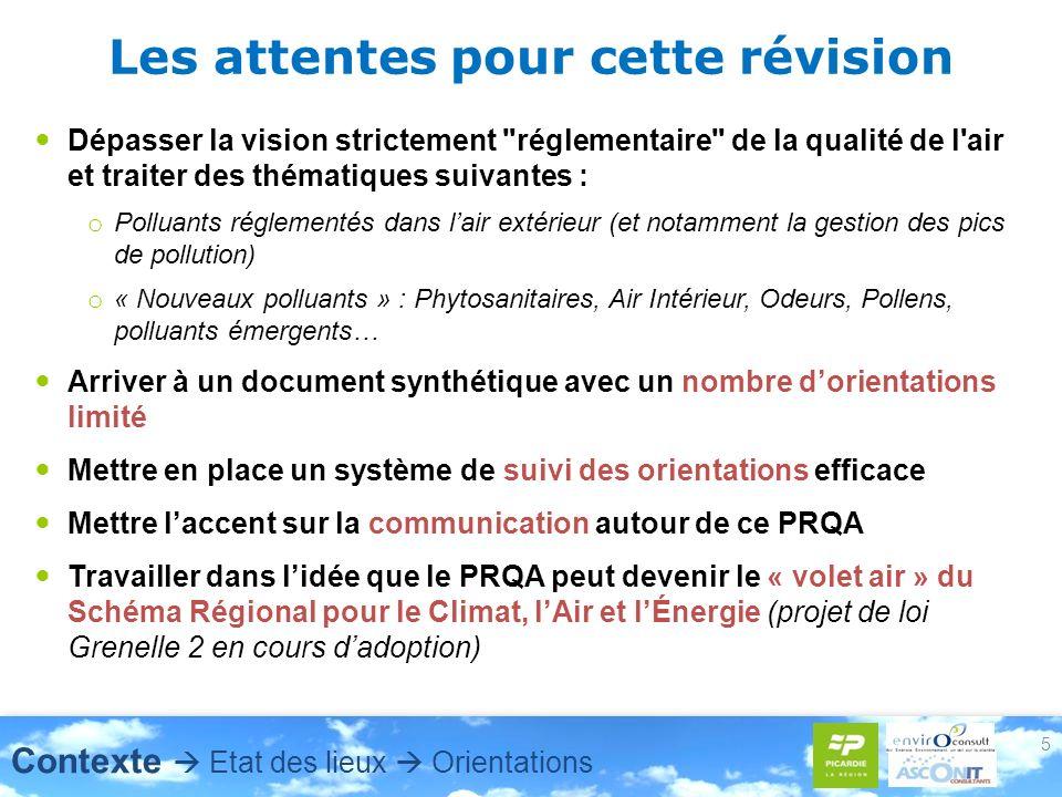 6 Démarche de la révision: contenu et articulation proposés Un document organisé en 4 grands chapitres Connaissances générales Quest ce que la pollution atmosphérique .