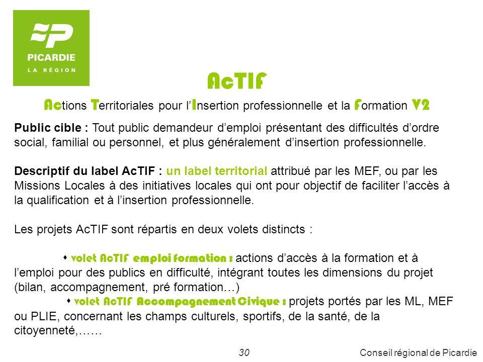31Conseil régional de Picardie 3 - PARTICIPATION AU FINANCEMENT DU PERMIS DE CONDUIRE pour les demandeurs demploi stagiaires de la formation professionnelle et les apprentis