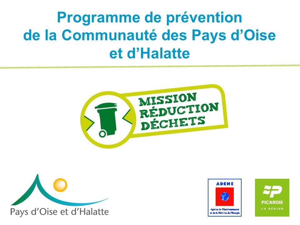 Programme de prévention de la Communauté des Pays dOise et dHalatte