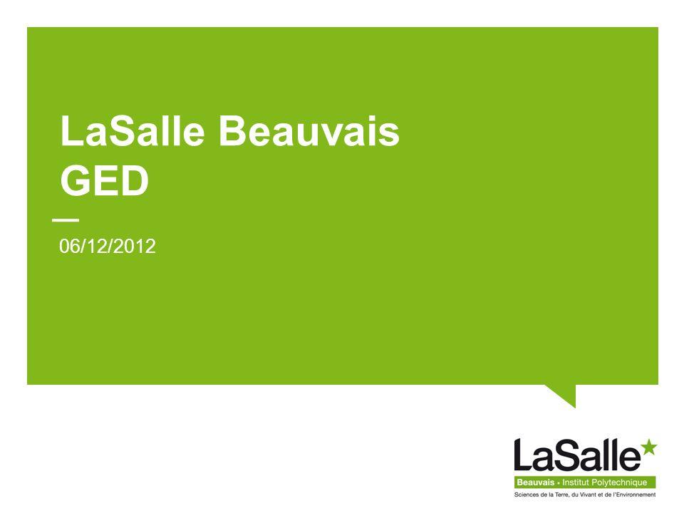 LaSalle Beauvais 2 1.Sharepoint