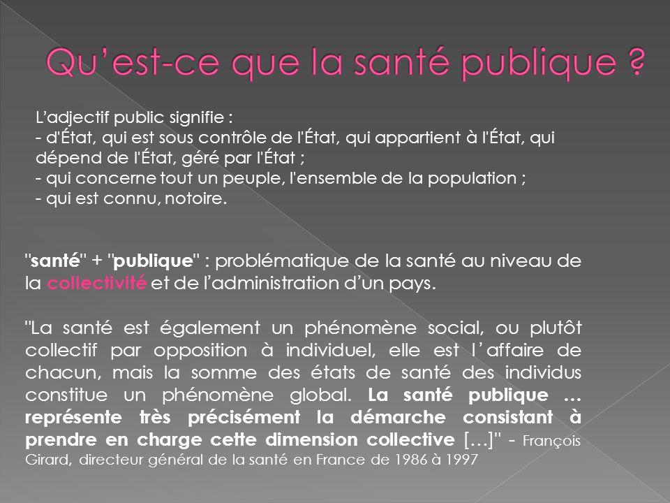 Ladjectif public signifie : - d'État, qui est sous contrôle de l'État, qui appartient à l'État, qui dépend de l'État, géré par l'État ; - qui concerne