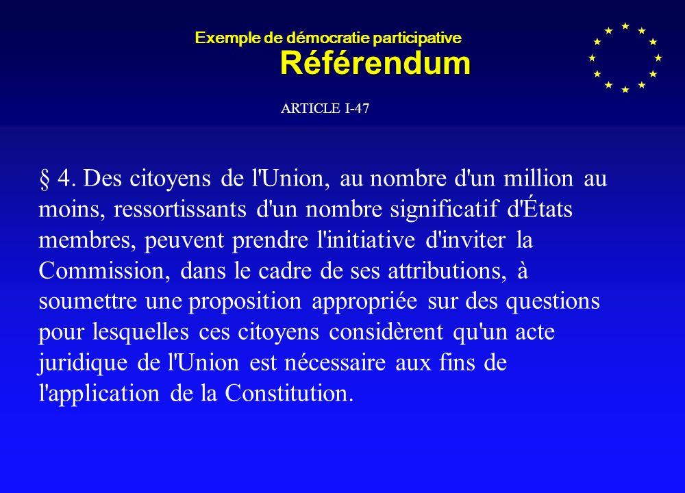 Le Parlement est la seule Institution européenne élue au suffrage universel.