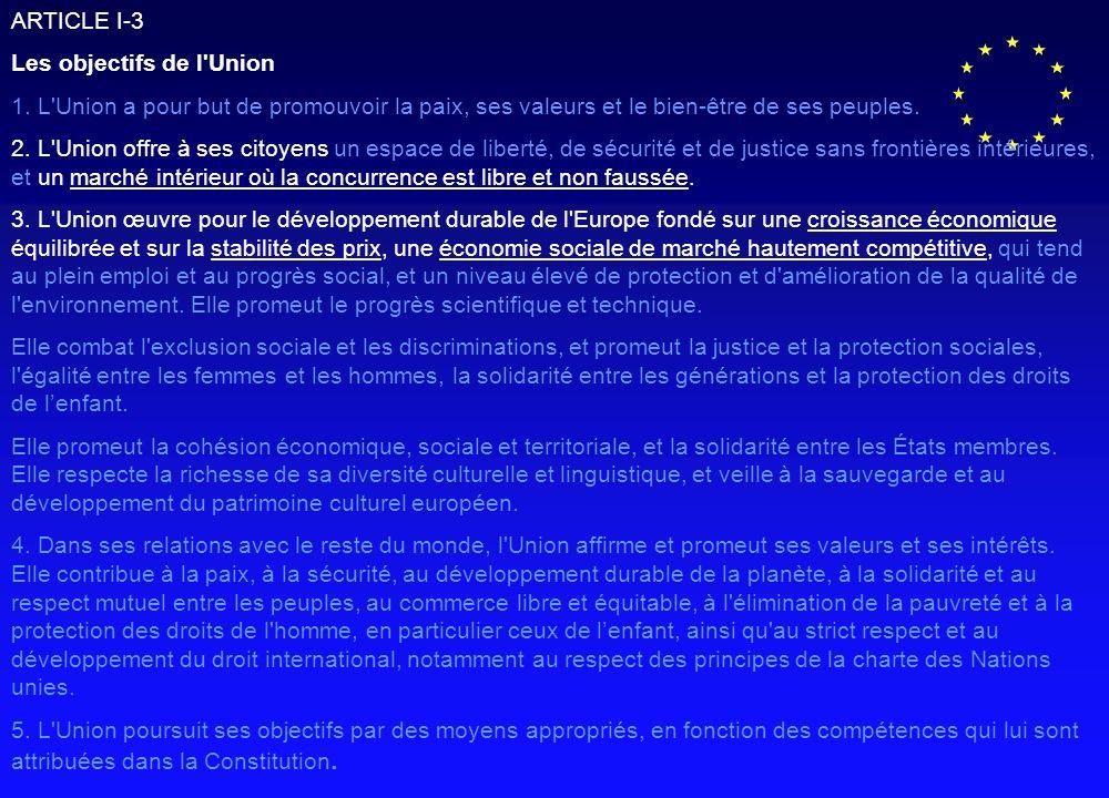 30 des 53 articles emploient les mots « a le droit… » ou « lunion reconnaît et respecte », il nexiste aucun engagement ni garantie juridique compte tenu de lemploi de ce vocabulaire.