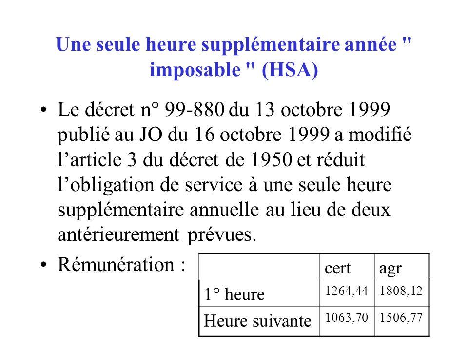 HSE HSE : heures supplémentaires effectives Les HSE correspondent à des heures effectuées de manière ponctuelle ; elles sont payées à lunité.