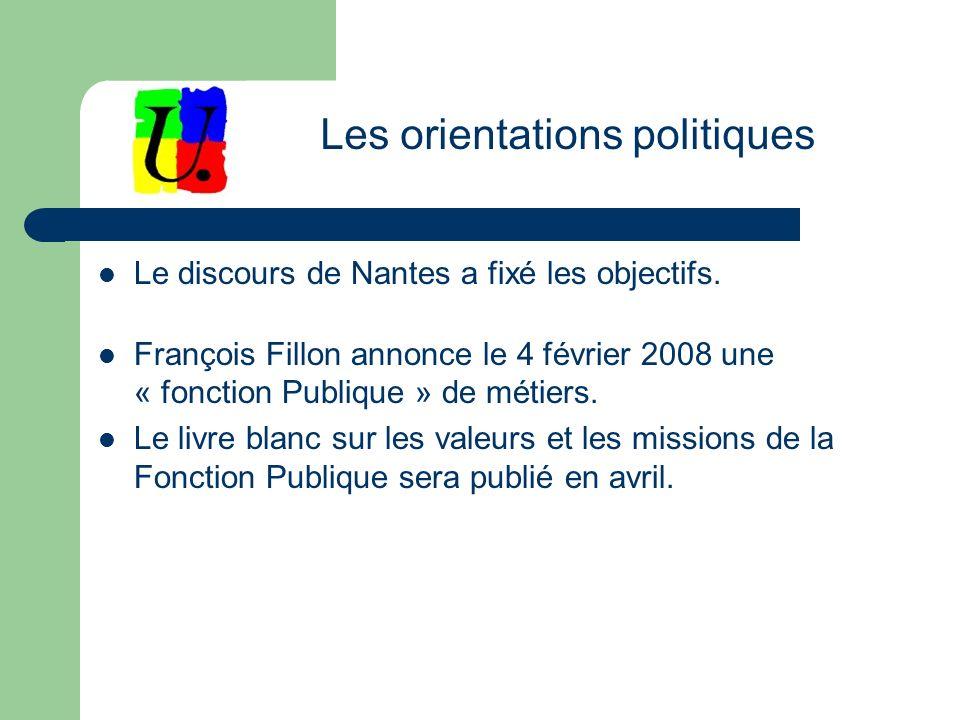 Le discours de Nantes a fixé les objectifs.
