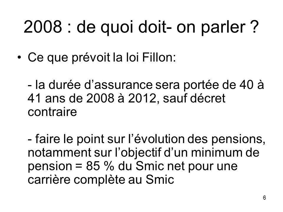 17 Parlons déquité Régime général : 83 % des femmes ayant liquidé leur retraite en 2004 ont bénéficié dune majoration dassurance pour enfant, en validant en moyenne 20 trimestres.