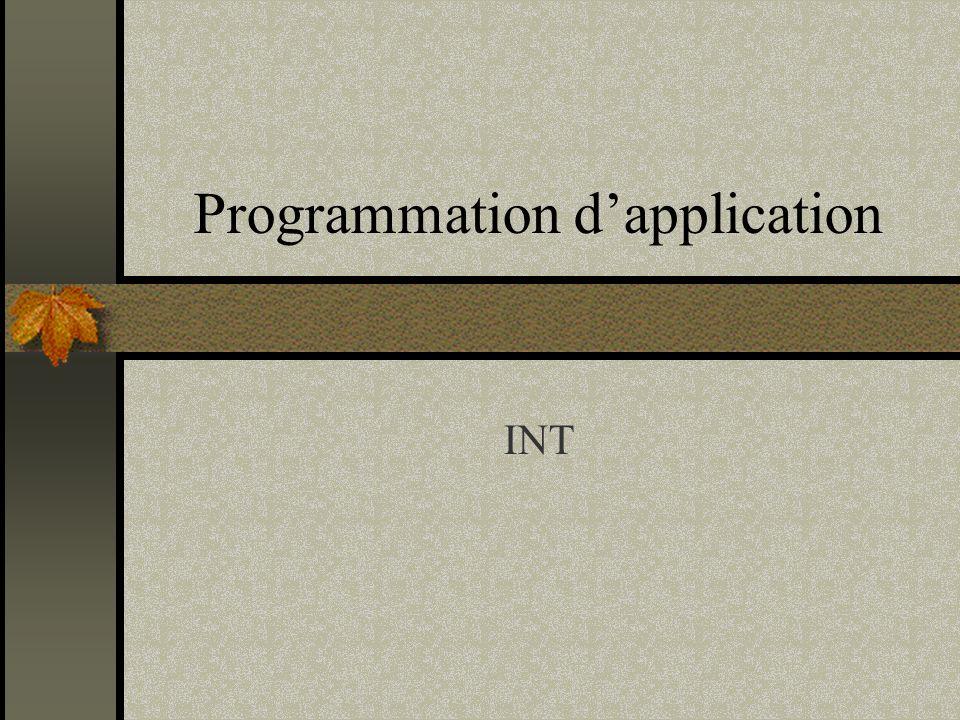 22 Bases de Données Option procédurale dOracle Extension de SQL Programming Language SQL Procédure stockées Procédures Fonctions Packages Triggers