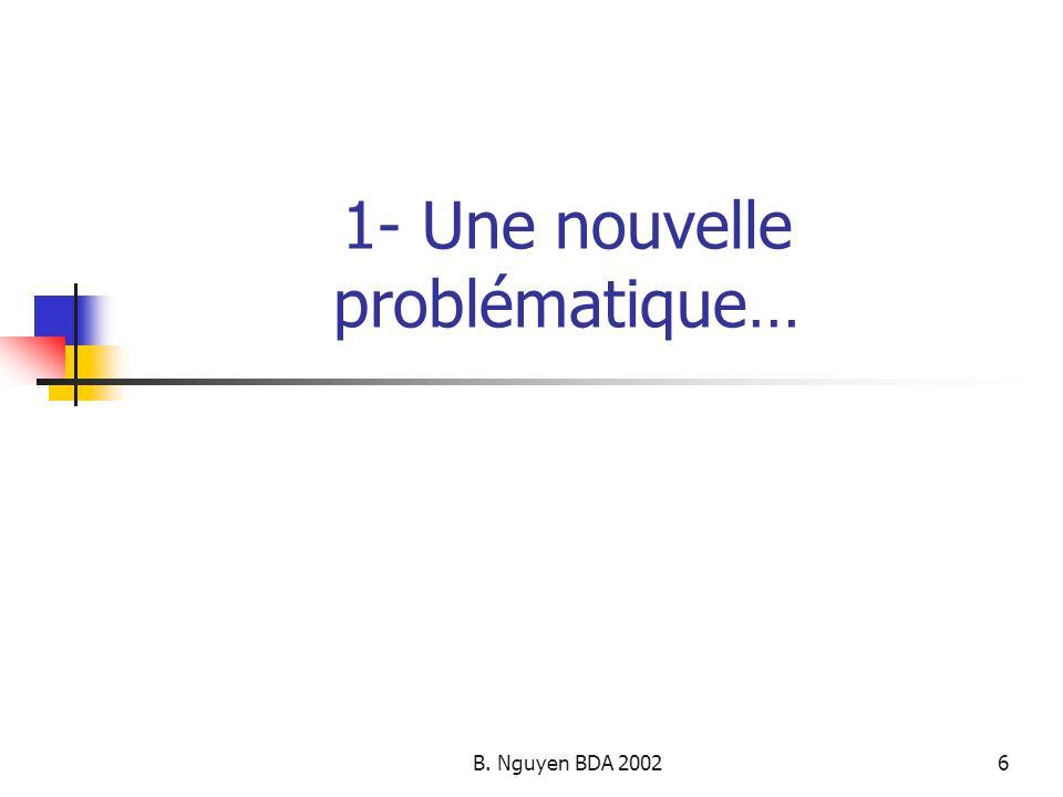 B. Nguyen BDA 200227 3- Objectifs futurs